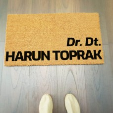 Doktor Kişiye Özel İsimli Paspsa