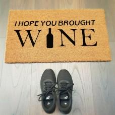 I Hope You Brough WINE Paspas