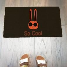 So Cool Tavşan Kapı Önü Paspası
